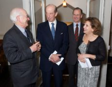 Greeting our patron HRH Duke of Kent